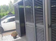 Altana, wiata, carport zaluminium