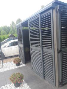 Altana, wiata, carport z aluminium